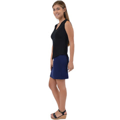 Women's Basic Rayon Mini Skirt