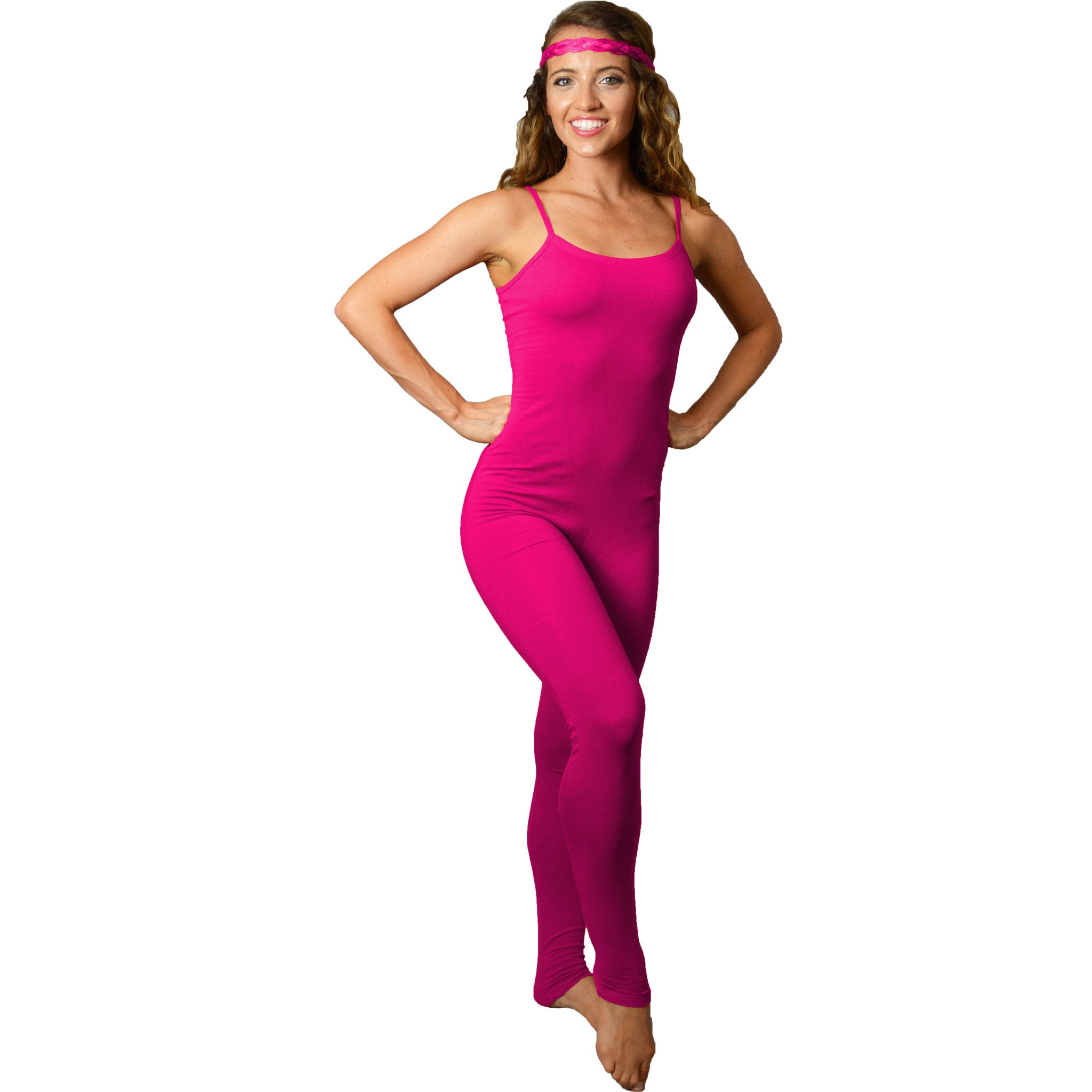 Women's Ankle Length Camisole Catsuit Unitard