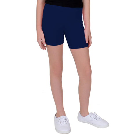 Teamwear Cotton Biker Shorts 3