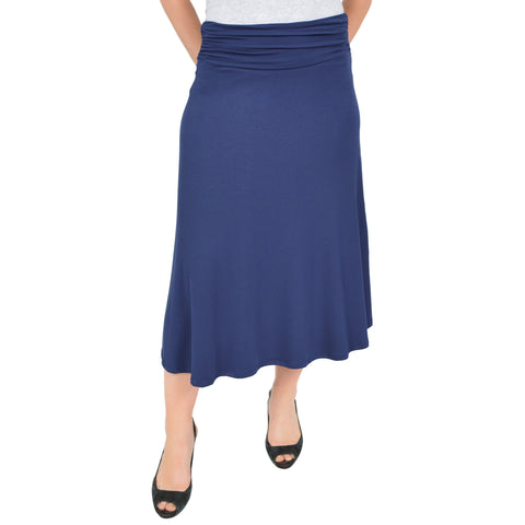 Women's Mandy Midi Flowy Skirt