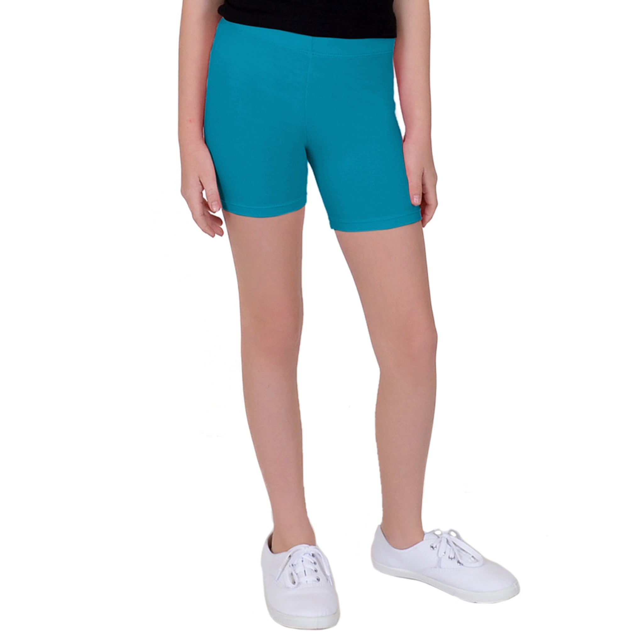 Girl's Cotton Biker Shorts