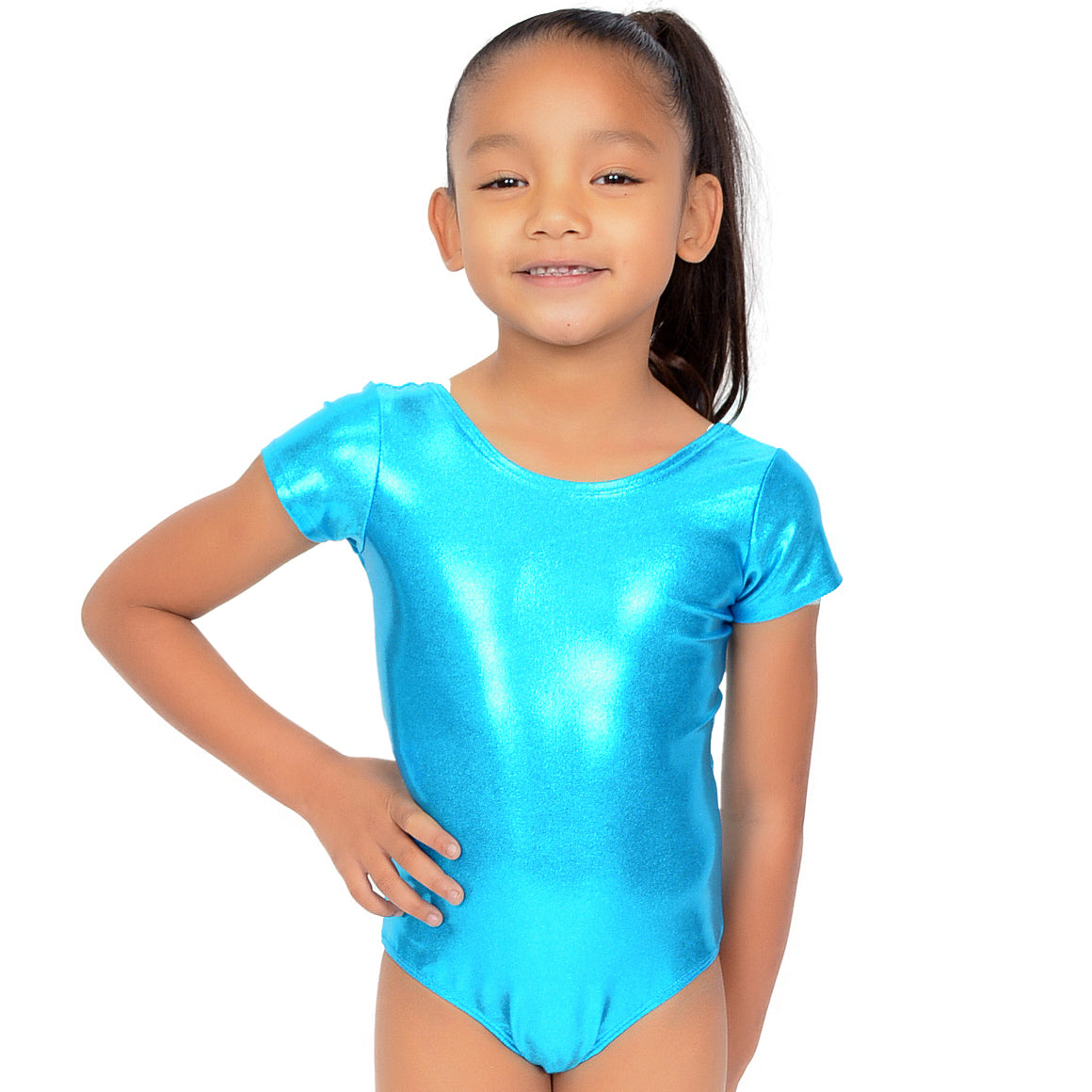 Girl's Mystique Spandex Leotard