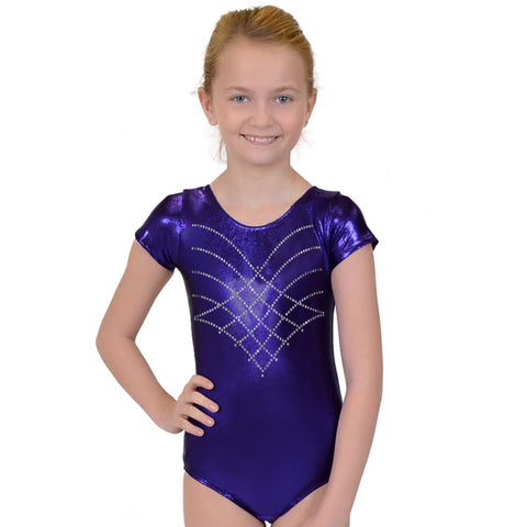 Girl's RHINESTONE Princess Mystique Leotards