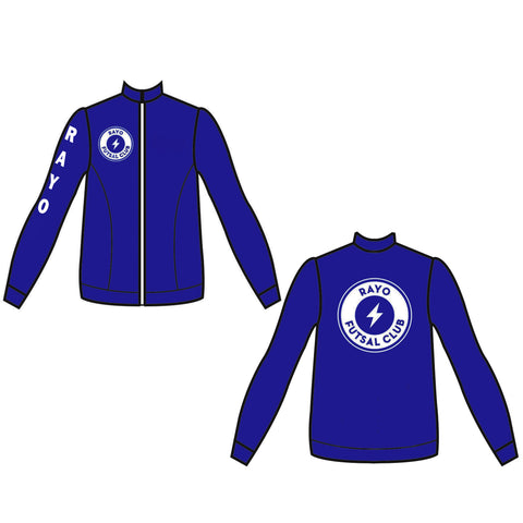Rayo Futsal Club Performance Family Warm Up Jacket