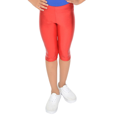 Girl's Metallic Mystique CAPRI Leggings