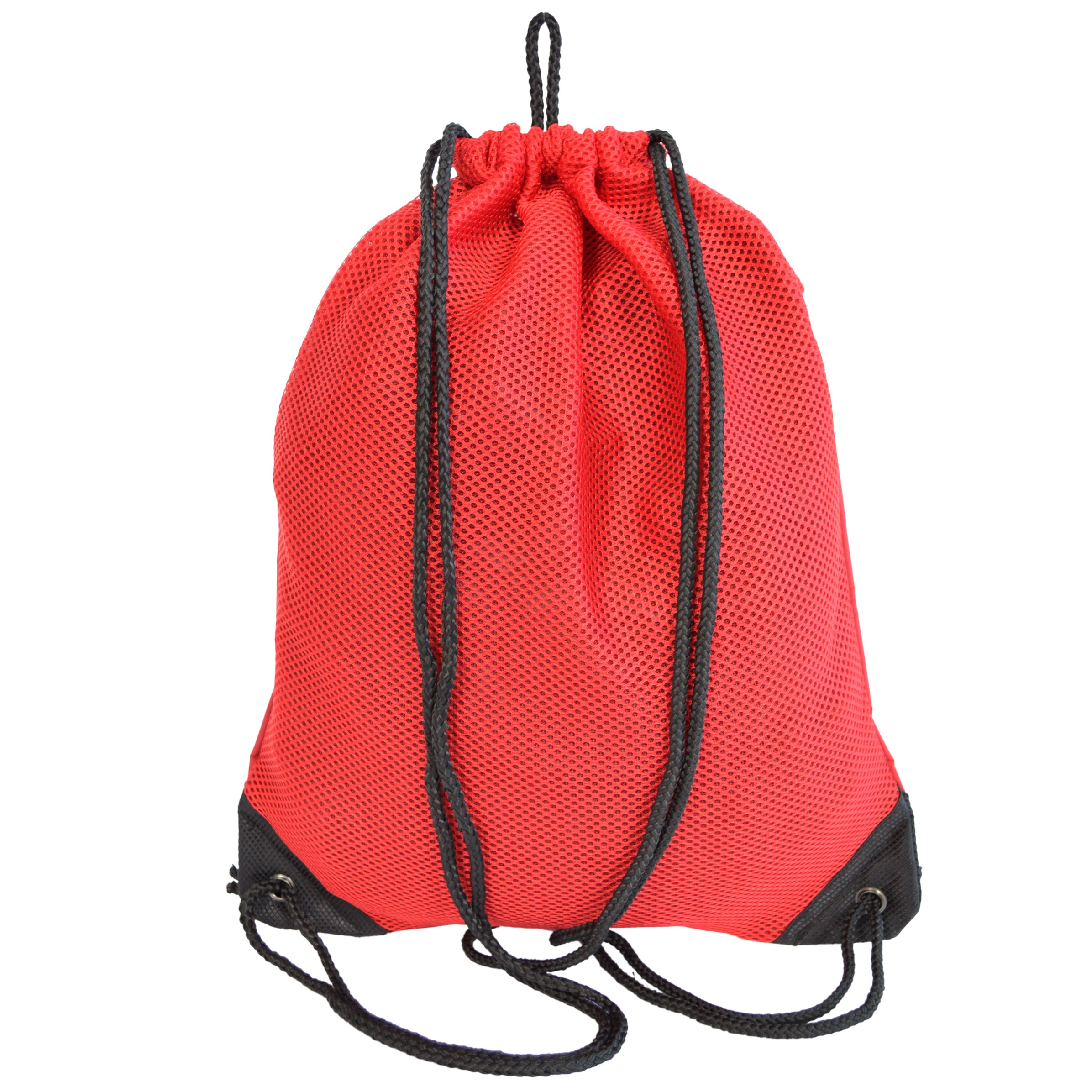Personalized Mesh Sport Drawstring Backpack