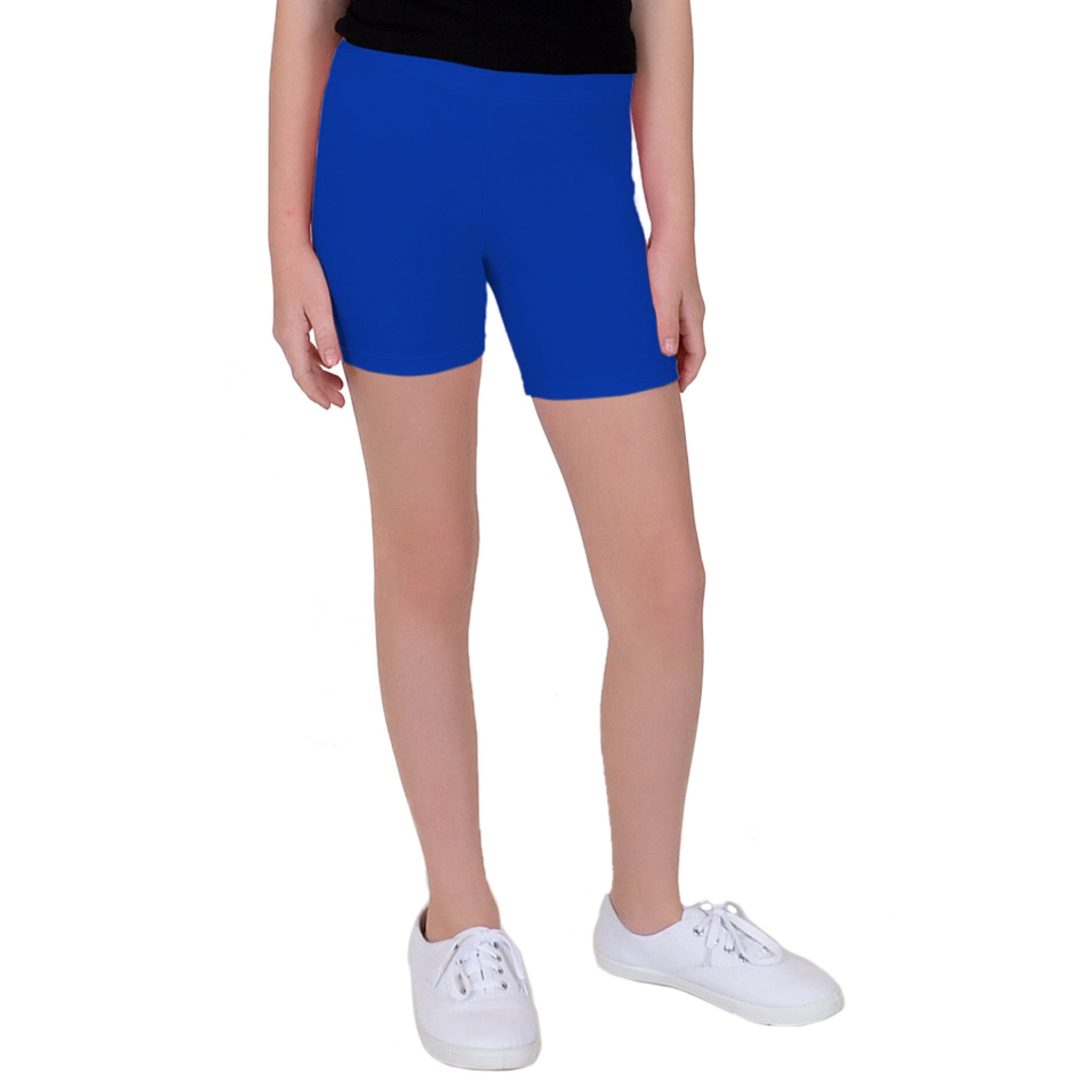 Teamwear Cotton Biker Shorts 1