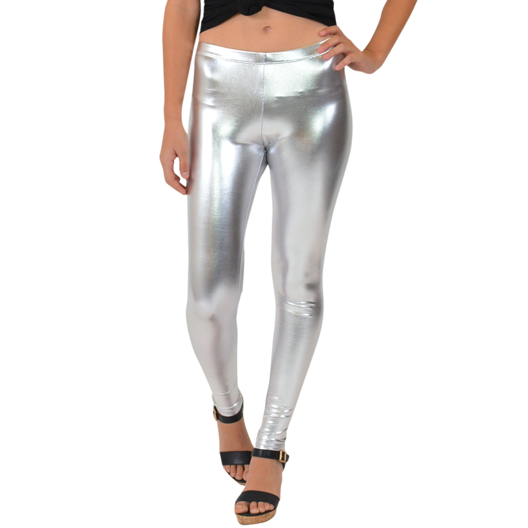 Women's Metallic Leggings