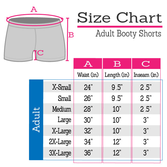 Plus Size Basic Fit Cotton Booty Shorts