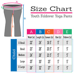 Girl's Cotton Yoga Pants