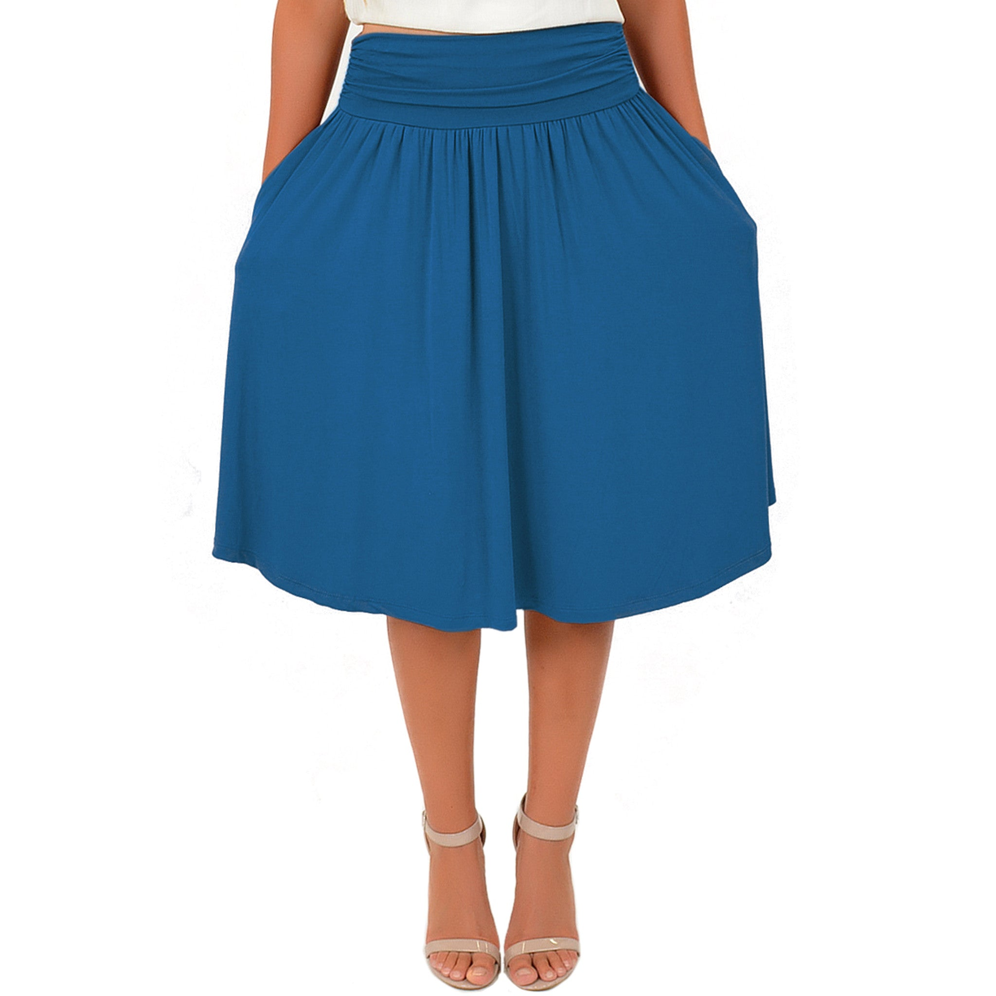 Women's and Plus Size Pocket Skirt