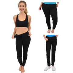 Teamwear Foldover Feelin Flexible Leggings