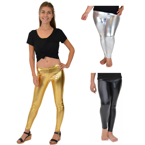Teamwear Metallic Leggings