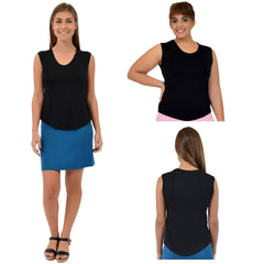 Teamwear Angelina Scoop Neck Tank Top