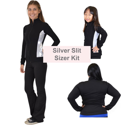 SILVER SLIT Cadet Warmup Jacket Sizer Kit