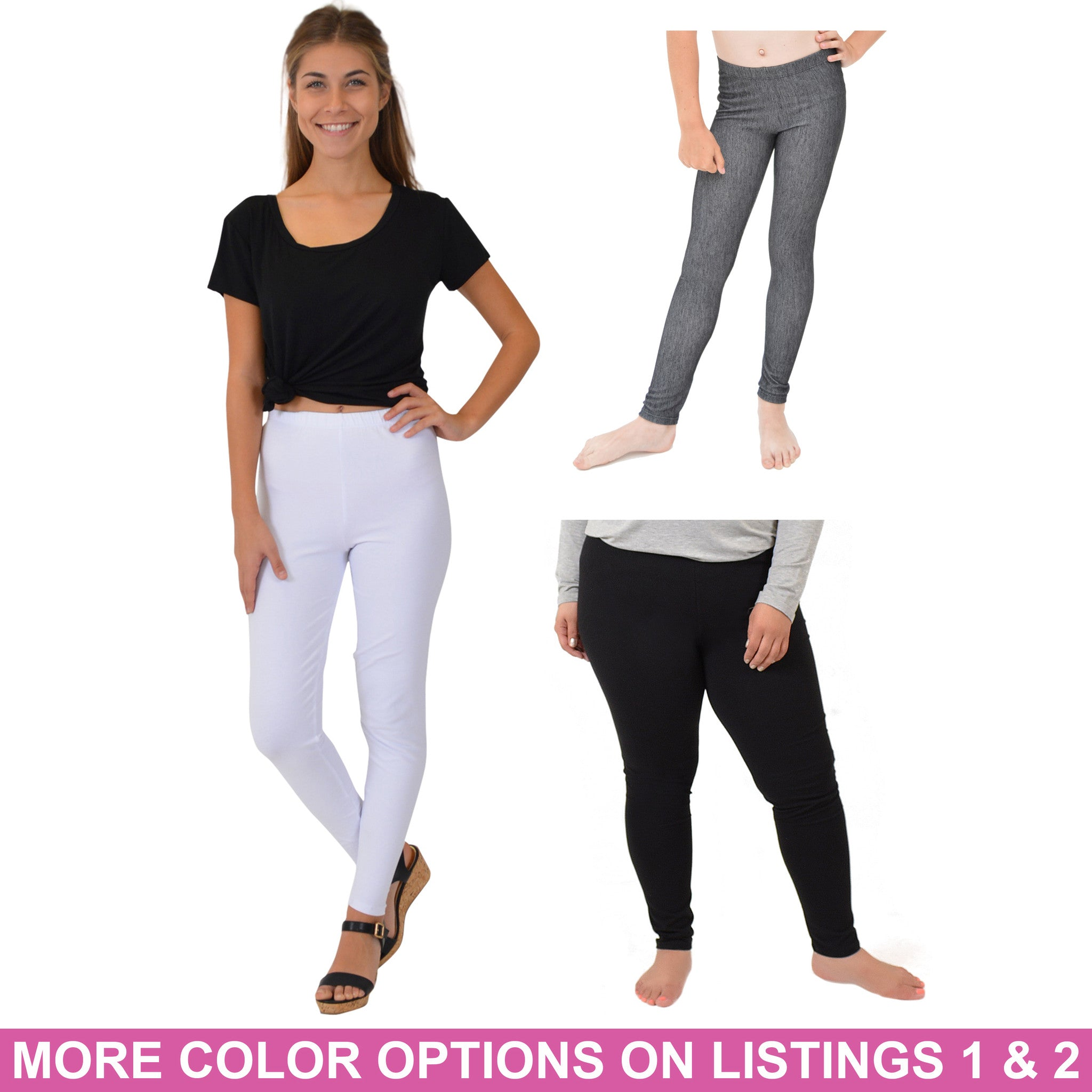 Teamwear Cotton Leggings 3