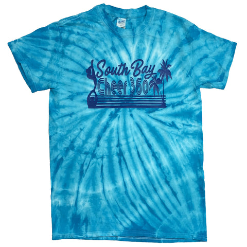 Teamwear Cheer 360 - Cyclone Vat-Dyed Pinwheel Short Sleeve T-Shirt