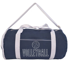 Kaysees Personalized Two-Tone Sport VOLLEYBALL Duffel Bags with Player's Name
