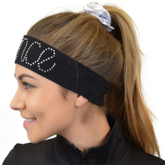 Dance Rhinestone Sparkly and Shiny Wide Headband