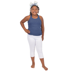 GP Girl's Plus Cotton CAPRI Leggings
