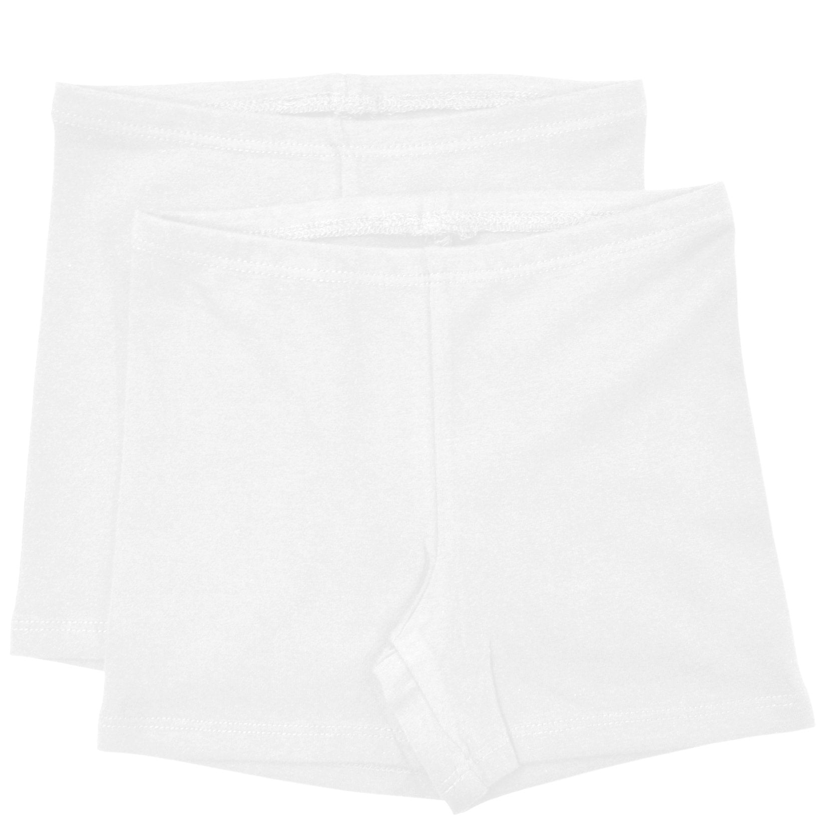 Girl's Infant Cotton Biker Shorts Pack Of 2