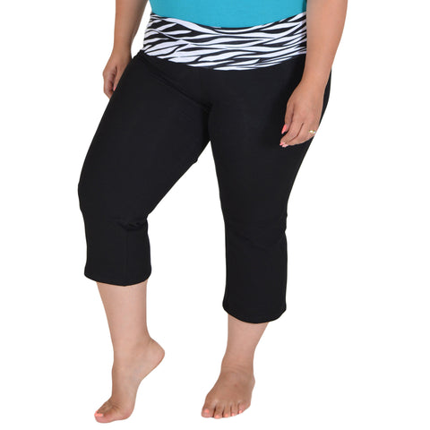 Plus Size CAPRI Yoga Pants