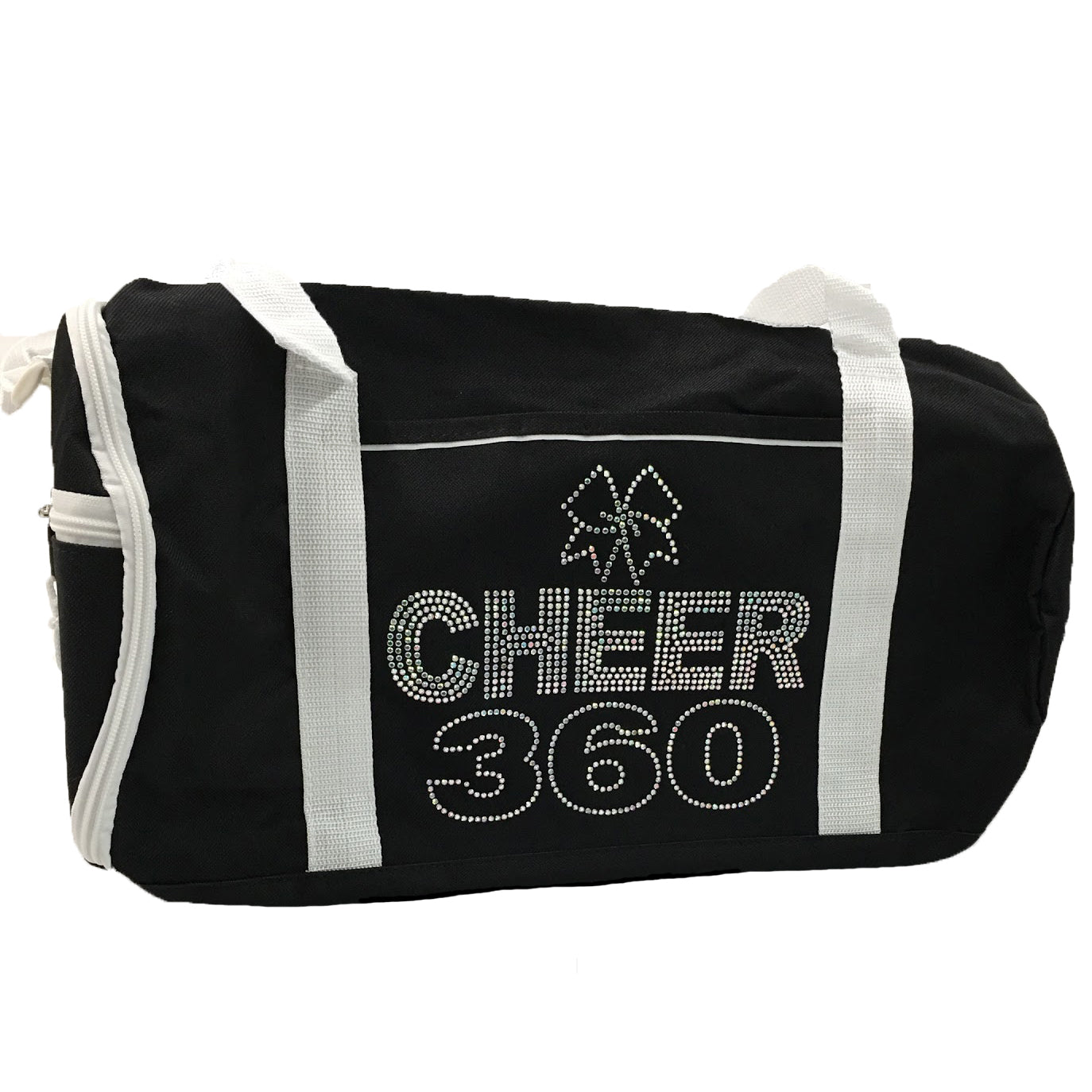 Personalized Two-Tone Sport CHEER 360 Duffel Bags with Player's Name