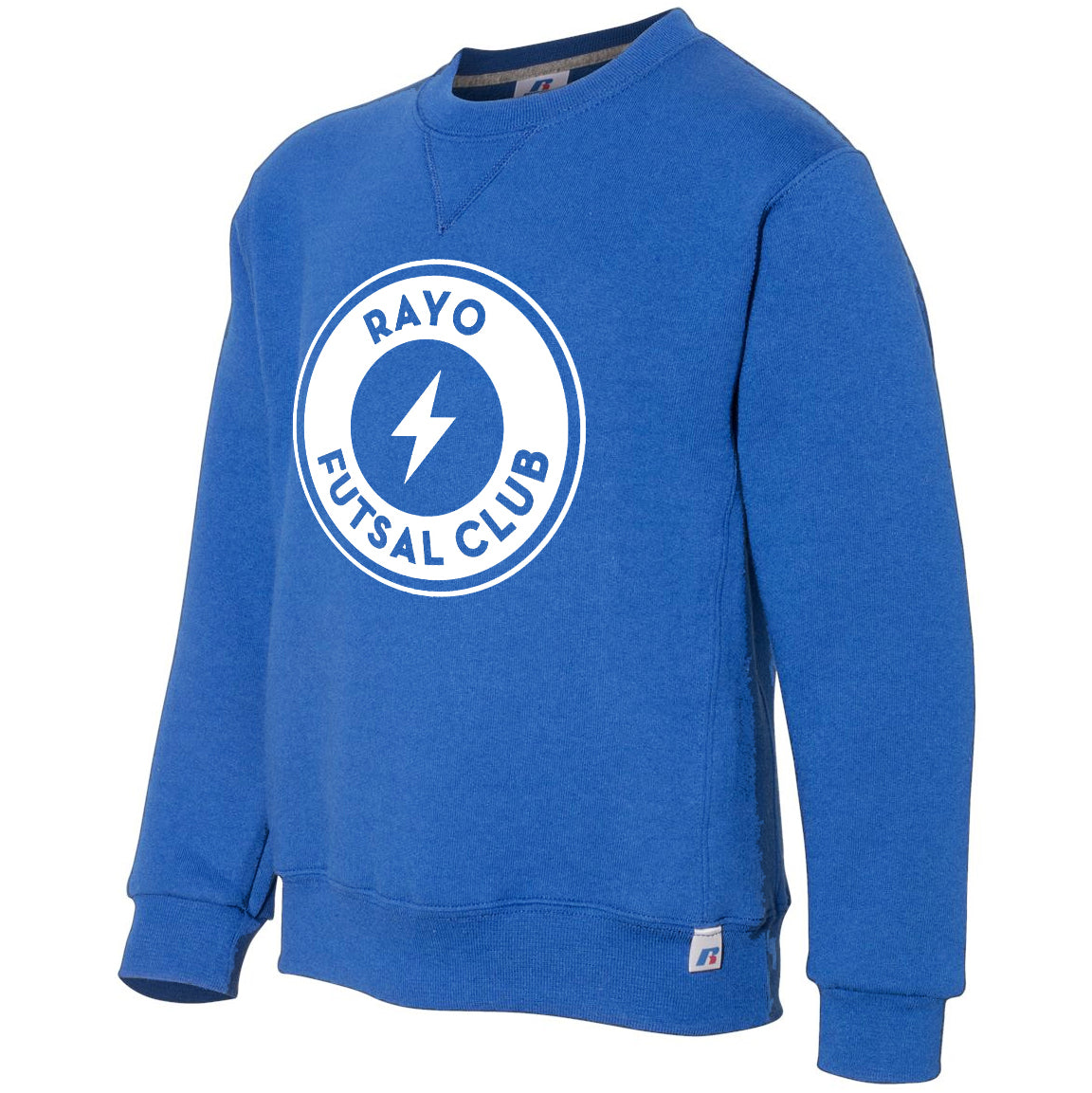 Rayo Futsal Club Russell Athletic - Youth Dri Power® Crewneck Sweatshirt