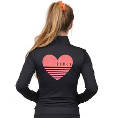 Women's Vinyl HEART DANCE Jacket