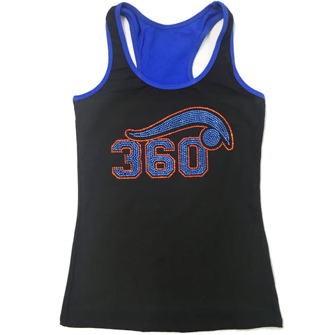 Cheer 360 Cotton Racerback Tank