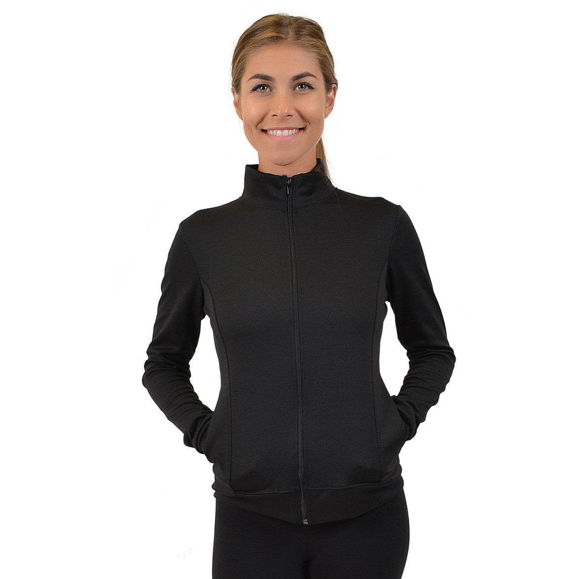 Women's Cotton Cadet Warm Up Jacket