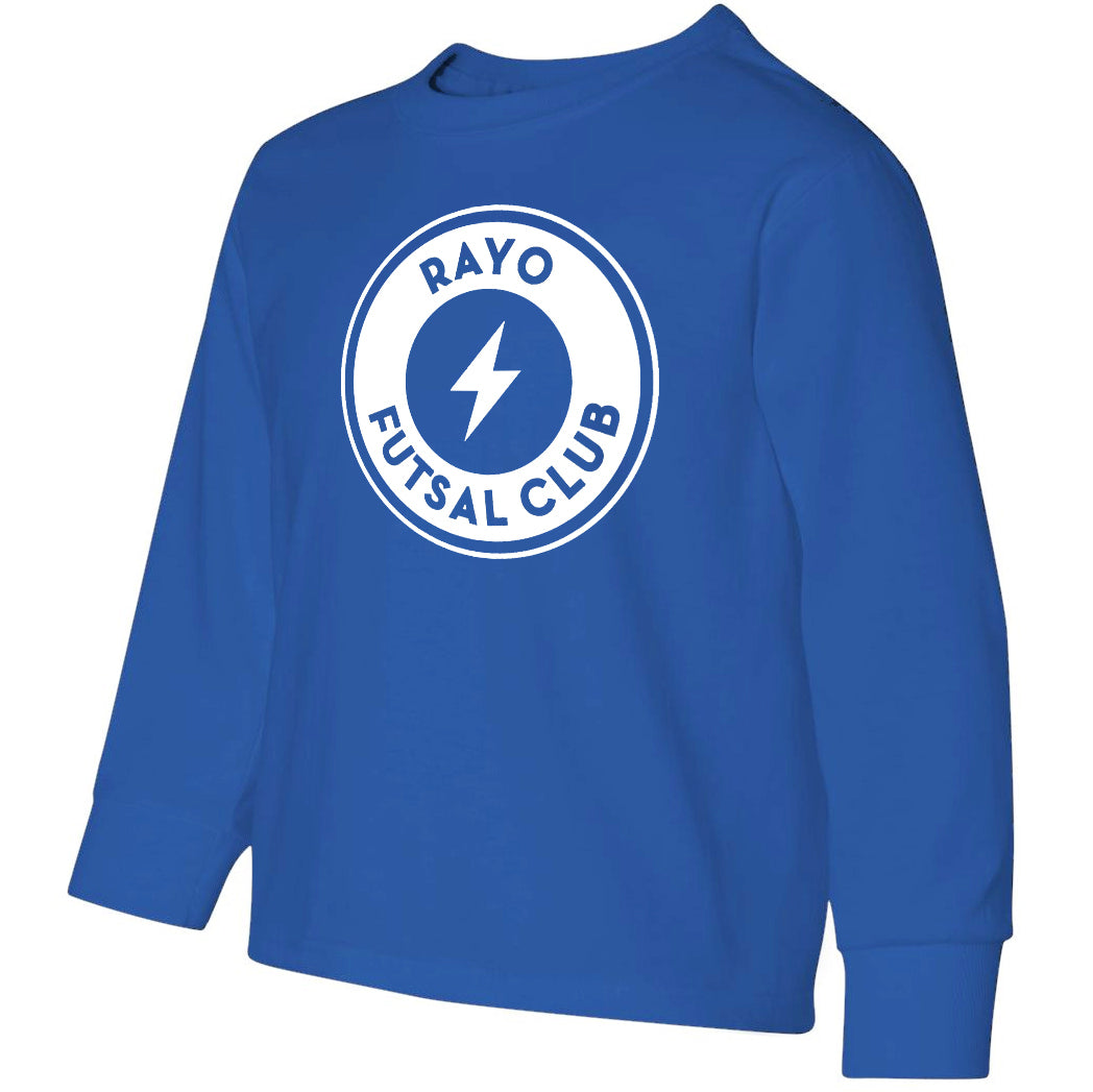 Rayo Futsal Club Jerzees - Dri-Power Active Youth Long Sleeve T-Shirt