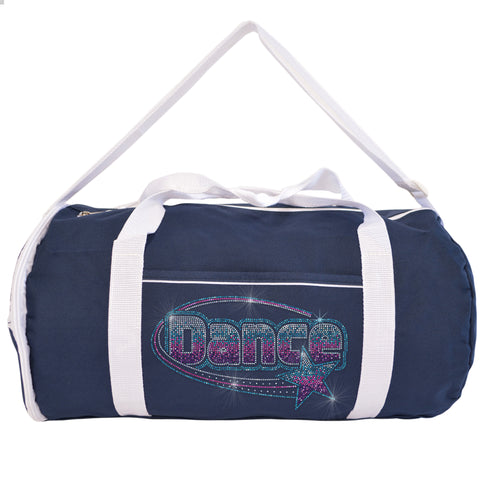 Kaysees Two-Tone Sport DANCE STAR Duffel Bag with Dancer's Name