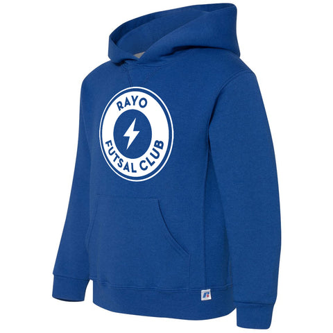Rayo Futsal Club Russell Athletic - Youth Dri Power® Hooded Pullover Sweatshirt