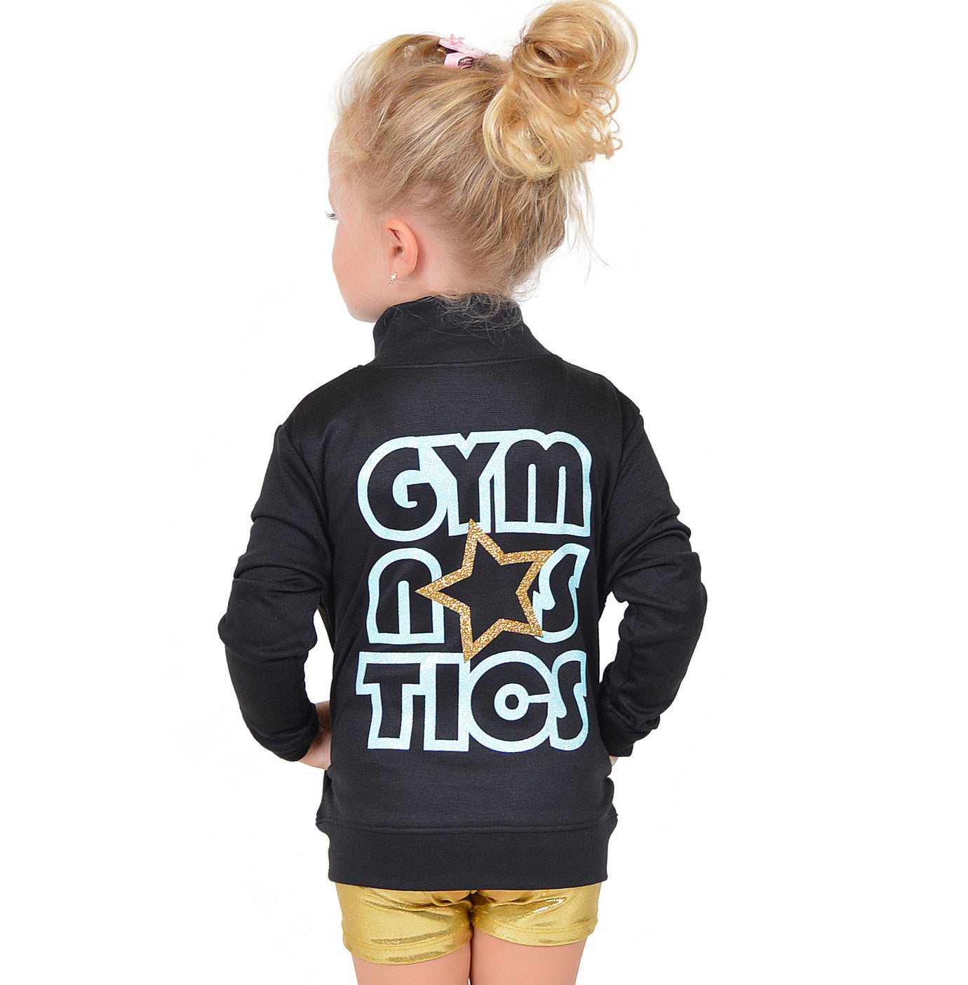 Girl's Glitter Gymnastics Jacket