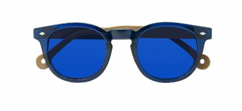 Cala Sunglasses in Blue by Parafina