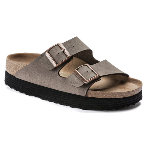 Arizona Platform Vegan in Mocha from Birkenstock