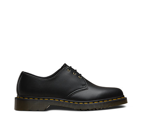 3 Eye Vegan 1461 Shoe in Black from Dr. Martens