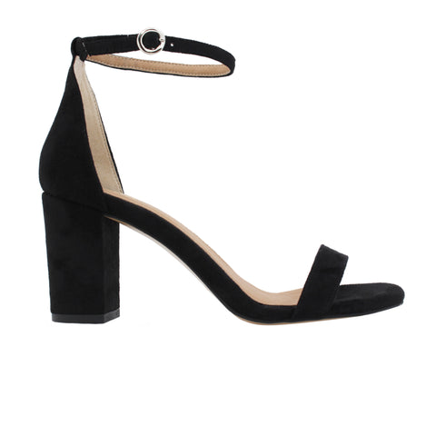 Block Heel Sandal in Black from FAIR