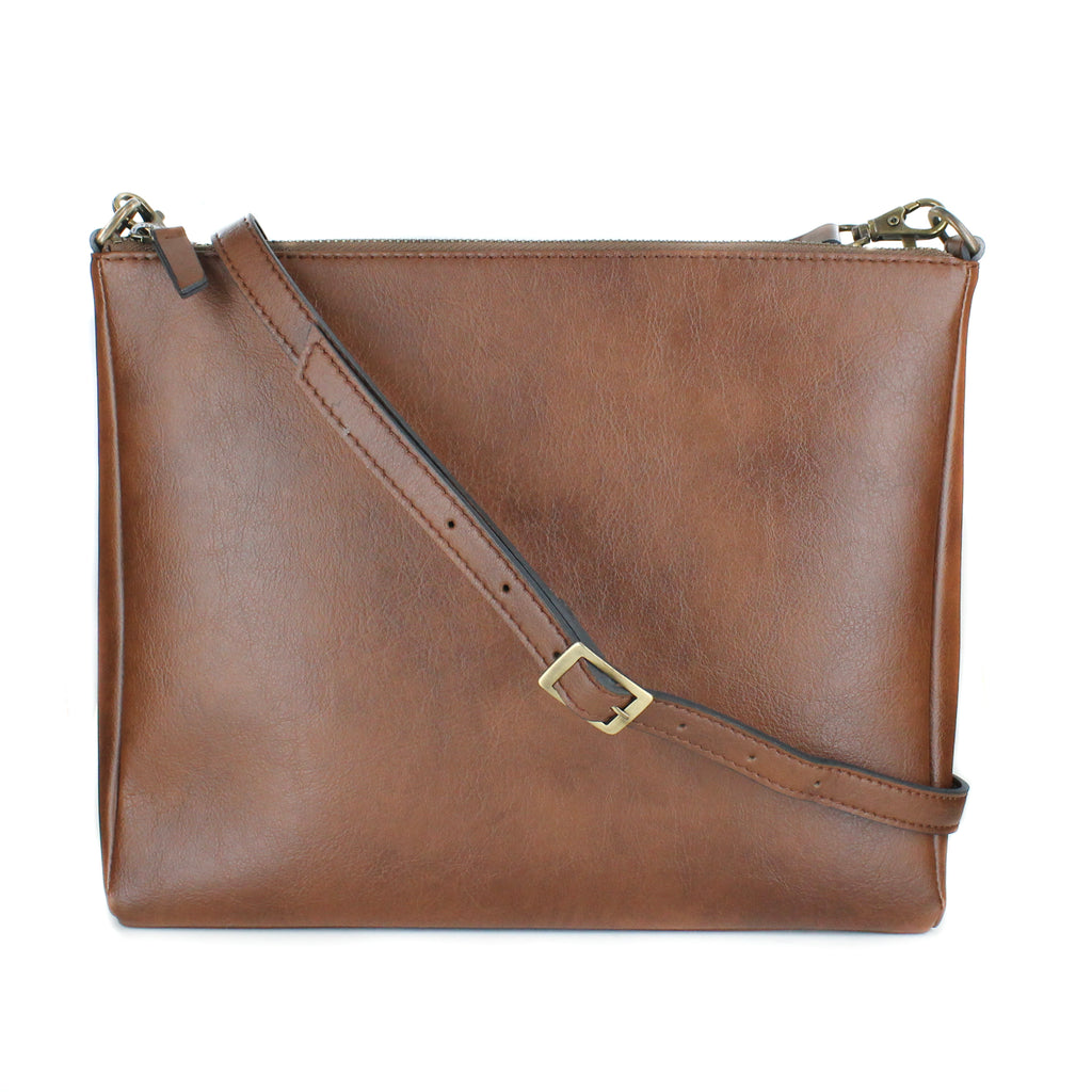 Ellie Crossbody in Tan from Novacas
