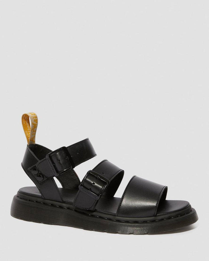 Vegan Gryphon Sandal in Black from Dr. Martens