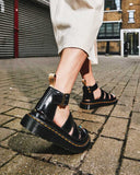 Vegan Clarissa II Sandal in Black from Dr. Martens