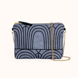 Dulce Clutch + Purse In Sea Arches from Lee Coren