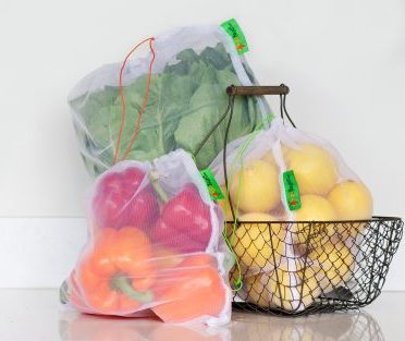 Reusable Produce Bags by 3bbags - pack of 3