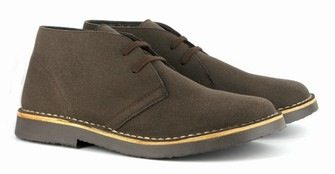 Bush Boot Brown from Vegetarian Shoes