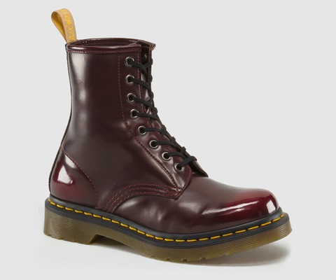 Vegan 1460 Boot in Cherry from Dr. Martens