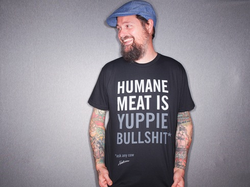 Humane Meat is... tee from Herbivore Clothing