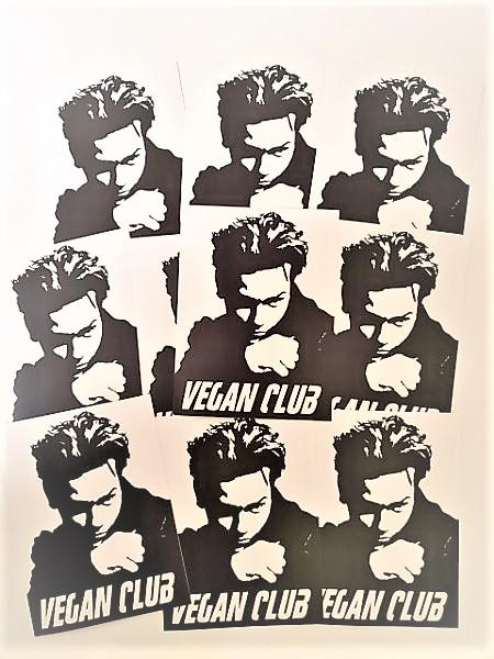 River Phoenix Vegan Club Sticker