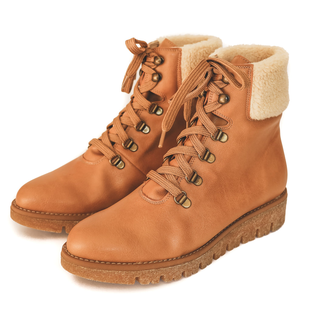 Aspen Hiker Boot in Natural from Bhava