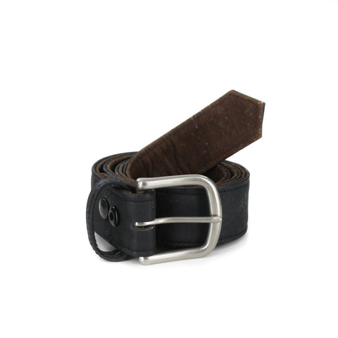 Reversible Cork Belt Black/Brown  from Cliff Belts
